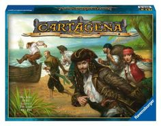 Ravensburger Cartagena - Family Board Game Who'll be able to escape the infamous prison of Cartagena? The pirates fight…
