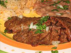 Make and share this Carne Asada Marinade recipe from Genius Kitchen. Carne Asada Marinade, Beef Marinade, Steak Marinades, Pollo Recipe, Skirt Steak Recipes, Comida Latina, Mexican Dishes, International Recipes, Grilling Recipes