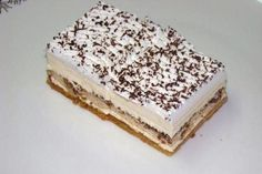Alexandra rezy, recept, Zákusky | Tortyodmamy.sk Krispie Treats, Rice Krispies, Diabetic Desserts, Tiramisu, Dessert Recipes, Orange, Ethnic Recipes, Lyrics, Food