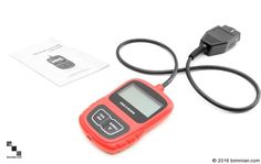 """Eliminate the guesswork and diagnose warning indicators including """"check engine"""" or """"airbag"""" using any of these handheld code readers and reset tools. Find the perfect Engine Code Reader and Reset Tools for all BMW series only from BIMMIAN AUTOMOTIVE INC. Obd Tools, Bmw Series, Bmw Cars, Engineering, Coding, Accessories, Electronics, Red, Technology"""