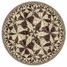 Gallery : Hyperbolic Escher