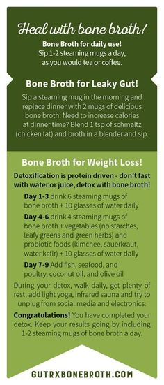 Heal with Bone Broth!