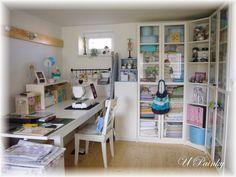 Painčin tvořivý koutek - Painka's sewing and craft room