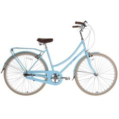 Bobbin Birdie 3 Speed Bicycle - Powder Blue