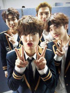 UP10TION Korean K Pop, Korean Star, Korean Drama, Up10tion Hwanhee, Up10tion Wooshin, C Clown, All About Kpop, How To Speak Korean, U Kiss