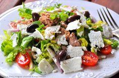 greek style salad / sałata w stylu greckim