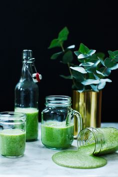 Energizing Green Smoothie  for Breakfast