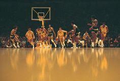 Los Angeles Lakers Jerry West Wilt Chamberlain Elgin Baylor Milwaukee Bucks Kareem Abdul-Jabbar Oscar Robertson