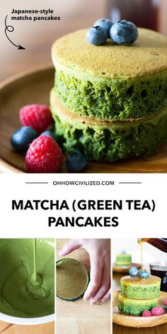 Either you love a good stack of Matcha Pancakes, or you're wrong! Kidding aside, these green tea pancakes are very much worth your time and effort - they are incredibly tasty and they pair well with breakfast and other snacks. Click to learn the recipe.