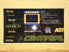 New Cabinet Build: Lakeside Arcade - plenty of pics. Pi Arcade, Arcade Game Room, Retro Arcade, Arcade Games, Arcade Cabinet Plans, New Cabinet, Cabinet Ideas, Most Played, Fire Emblem Awakening