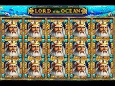 Бонус игра в игровом автомате Lord of the Ocean, в казино онлайн.