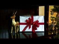 How to Tie a Christmas Triple Bow video What Is Christmas, Christmas Movies, Christmas Crafts, Christmas Tree, Make A Bow Tie, How To Make Bows, Folding Scarves, Fancy Bows, Pretty Packaging