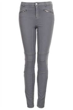 Coated Biker Detail Skinny - New In This Week  - New In
