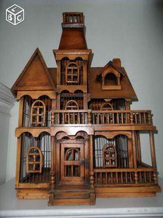 Magnifique grande cage ancienne Décoration Côte-d'Or - leboncoin.fr