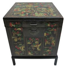 1stdibs | Antique Painted Trunk