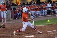 Bailey Castro recorded her second multi-homer game of the season. (Photo: Maury Neipris)