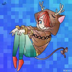 DoggyAndi! A legjobb youtuber! Ice, Fictional Characters, Ice Cream, Fantasy Characters