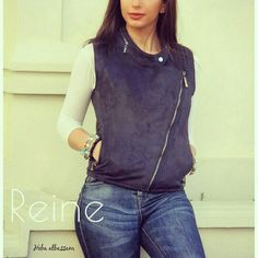 | Reine |   +962 798 070 931 ☎+962 6 585 6272  #Reine #BeReine #ReineWorld #LoveReine  #ReineJO #InstaReine #InstaFashion #Fashion #Fashionista #FashionForAll #LoveFashion #FashionSymphony #Amman #BeAmman #Jordan #LoveJordan #ReineWonderland #Vest #Suede #ChamoisVest #SuedeVest