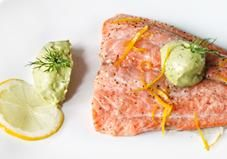 Try this super simple salmon preparation for an easy way to entertain or for a healthy weeknight meal in 20 minutes or less!