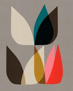 *graphic design, prints, illustrations, organic shapes*