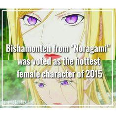 2nd place was Shinoa (Owari no Seraph); 3rd place was Nao Tomori (Charlotte) - Noragami