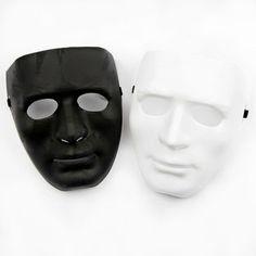 Tyhjät Kasvot -Maski