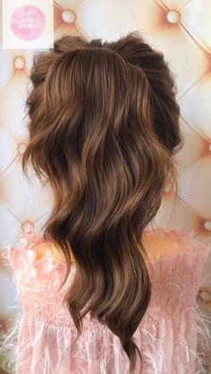 30 Easy & Quick vedio hair - My Stuff - Hochsteckfrisur Wedding Hairstyles For Long Hair, Pretty Hairstyles, Easy Hairstyles, Kids Hairstyle, Bun Hairstyle, Hairstyles Videos, Bridal Hairstyle, Prom Hairstyles, Medium Hair Styles