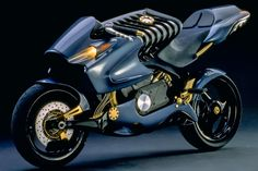 H2 Motorcycle by Thinkable Studio, via Behance