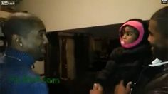 Toddler has mind blown after meeting father's identical twin
