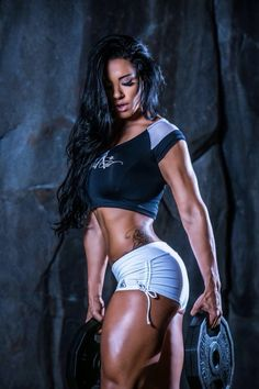 STRENGTH & CONFIDENCE of Brazilian #Fitness model Sue Lasmar : if you LOVE Health, Workout Inspiration & Body Goals - you'll LOVE the #Motivational designs at CageCult Fashion: http://cagecult.com/mma