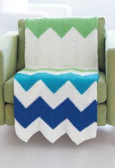 Free Contemporary Zig Zag Throw Crochet Pattern ༺✿ƬⱤღ  http://www.pinterest.com/teretegui/✿༻