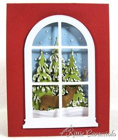 KC Poppy STamps Grand MAdison Arched Window 2 center