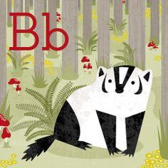Animal Alphabet by Liz Ablashi, via Behance