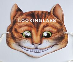 CHESHIRE CAT Mask From Alice In Wonderland VICTORIAN PAPER MASK MADE IN ENGLAND   eBay