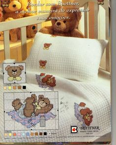 quilting like crazy Cross Stitch For Kids, Cute Cross Stitch, Cross Stitch Charts, Cross Stitch Designs, Cross Stitch Patterns, Cross Stitching, Cross Stitch Embroidery, Stitch Cartoon, Blanket Stitch