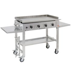 Blackstone 36 inch Outdoor Cooking Gas Grill Griddle Station Black