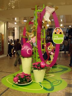the easter bunny live from the garden state plaza easter d cor pinterest gardens chairs. Black Bedroom Furniture Sets. Home Design Ideas