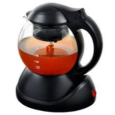 Elektrische waterkoker en theepot in 1. Maak van je waterkoker een theepot met theezeef voor losse thee. Water erin, thee in de zeef en de rest gaat vanzelf!