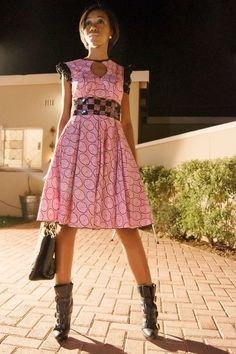Beautiful Botswana fashion by Mpho