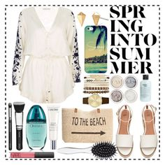 """""""Beach day"""" by dorothy-moore ❤ liked on Polyvore featuring Casetify, Pampelone, Style & Co., Stella & Dot, Jessica Carlyle, philosophy, Calvin Klein, Lancôme, NARS Cosmetics and New Look"""