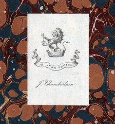 Ex Libris, Bookbinding, Joseph, Collection, Book Binding