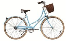 I really want a European-style upright bike with a basket and a rear carrier. Papillionaire bikes are about half the price of other similar bikes I've seen reviewed ($600 for a 3-speed with basket and carrier instead of $1000-1400). So pretty.