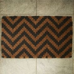 Chevron Doormat - $29.00 at West Elm