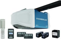 Chamberlain Garage Door Opener, HPS, Wi-Fi Built In for MyQ Smartphone Control, Battery Backup When Power Goes Out and Ultra-Quiet Belt Drive Operation - Products Lists of Tools and Hardware Best Garage Doors, Overhead Garage Door, Garage Shed, Quiet Garage Door Opener, Garage Door Replacement, Best Wifi, Smartphone, Garage Addition, Belt Drive
