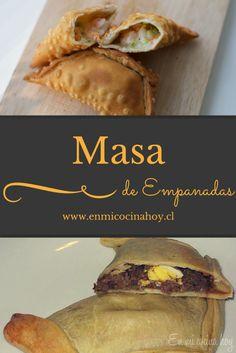 Cocina – Recetas y Consejos Masa Recipes, Mexican Food Recipes, Cooking Recipes, Dim Sum, Quiches, Chilean Recipes, Chilean Food, Recipes Appetizers And Snacks, Desserts