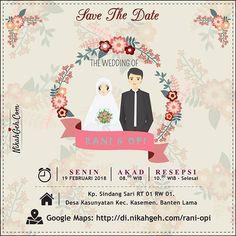 Konsep undangan pernikahan indonesia fifi teddy wedding from instagram stopboris Gallery