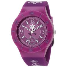 Juicy Couture 1900853 Women's Taylor Purple Dial Purple Silicon Jelly Strap Watch