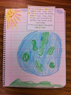 Earth Day Song: If you care about the earth, keep it clean!