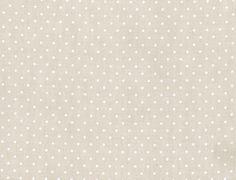Ella Moss Cotton Natural Dot