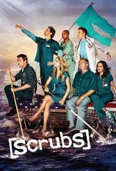 Scrubs (2001-10) 8/10 Pros - lighthearted fun, creative humor, inner monologue, janitor Cons - no real plot development, can get dry, worst guest stars, interns are boring, some characters just disappear